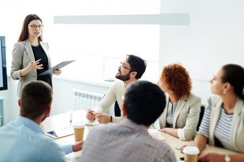 PHOTO: Thinkstock.com. Seminar for managers